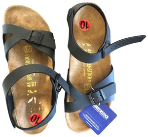 Birkenstock Black and Tan Sandals