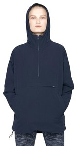Outdoor Voices Pocket Athletic Crepe Hooded Stretchy Jacket