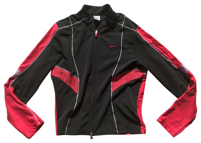 Item - Pink and Black Large (12-14) Workout Activewear Outerwear Size 12 (L)