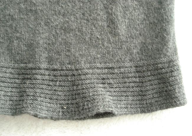 26dde3a225 Max Studio short dress Gray Short Sleeve Sweater Knitted Scoop Neck on  Tradesy Image 5