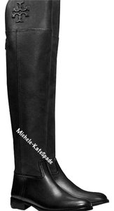 Tory Burch Size 11 Simone Over Knee BLACK Boots