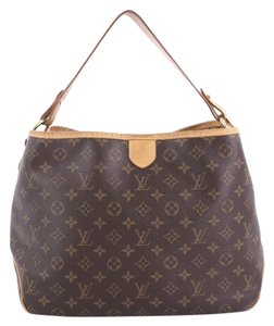 Louis Vuitton Canvas Hobo Bag
