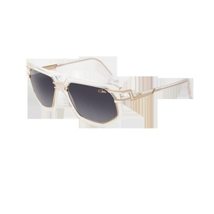 52423161fa Cazal CAZAL Sunglasses 9066 003 Crystal Gold Light Grey Shaded Mirrored