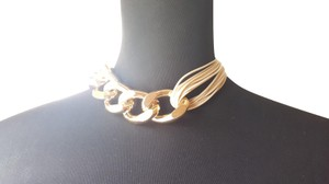 SAACHI Saachi Corded Large Chain Collar Necklace