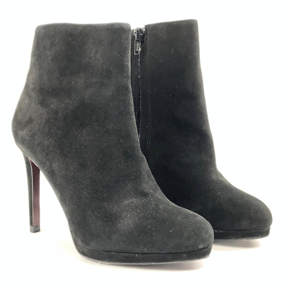 finest selection b5723 f8592 Zara Black New Leather Suede Heels Ankle Stiletto 6 Boots/Booties Size EU  36 (Approx. US 6) Regular (M, B)