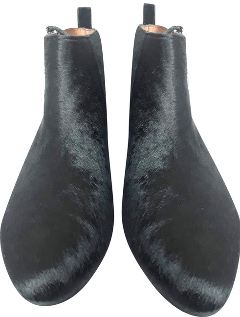 Gap Black Calf-hair Ankle Boots/Booties