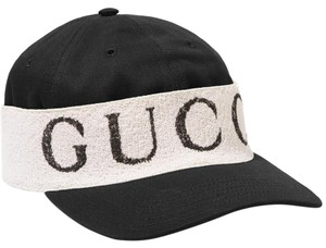 Gucci Cotton-twill and printed terry baseball cap Size S