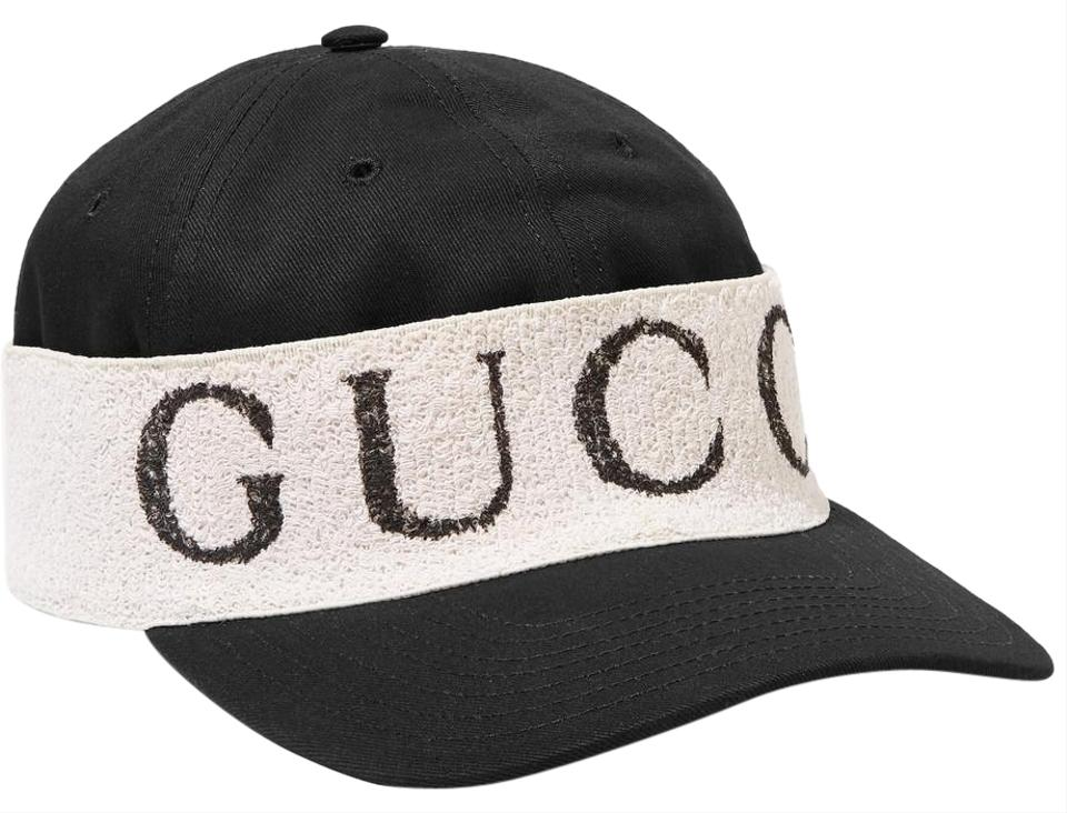8304e588760c Gucci Cotton-twill and Printed Terry Baseball Cap Size S Hat - Tradesy