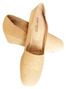 Andre Assous Cotton Espadrille Rope Wedge Natural Wedges