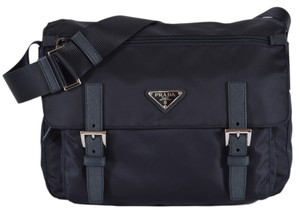 Prada BLUE Messenger Bag