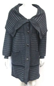 Stella McCartney Knit Buttons Fold Collar Cardigan