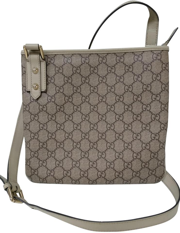 5b74f170ddddd5 Gucci Gg Supreme Monogram Leather Mesenger Cross Body Bag Image 0 ...