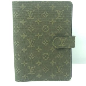 Louis Vuitton Louis Vuitton Monogram Agenda PM in Olive Idylle Mini Lin