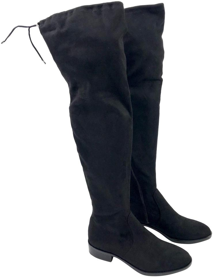 a975164b39e Sam Edelman Black Women s Fabric Over The Knee Boots Booties Size US ...