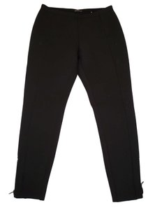 J.McLaughlin Zipper Leggings Neoprene Skinny Pants Black