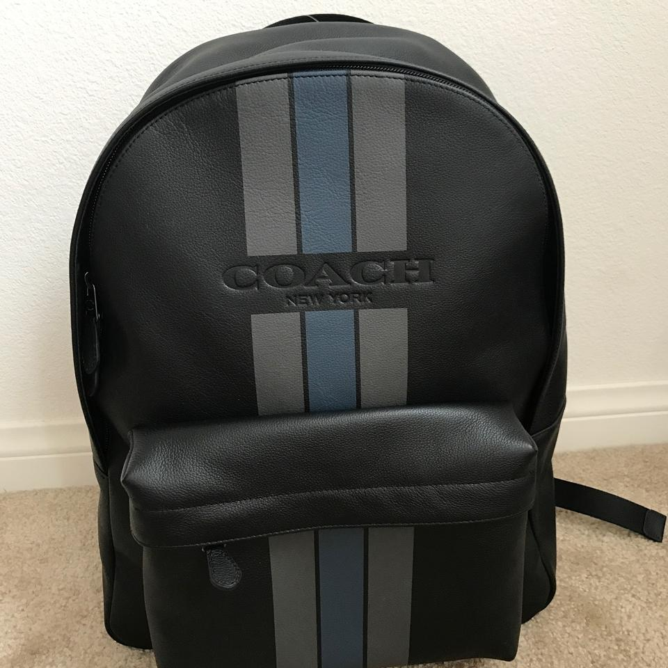 Terrific Coach Mens Charles In Varsity F72237 Multicolor Calfskin Leather Backpack 47 Off Retail Ibusinesslaw Wood Chair Design Ideas Ibusinesslaworg