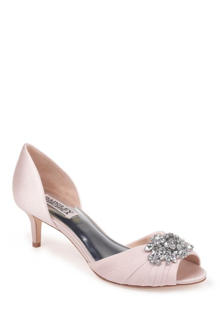 Item - Pink Sabine Peep Toe Pumps Size US 6.5 Regular (M, B)