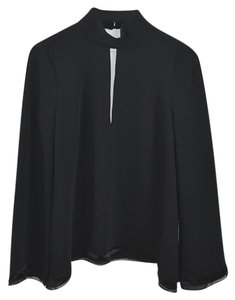 Cinq à Sept Fall Winter Holiday Night Out Date Night Top Black