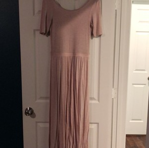 pale pink Maxi Dress by Bordeaux