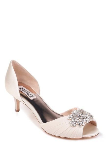 Item - Ivory Sabine Peep Toe Pumps Size US 10 Regular (M, B)