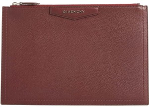 Givenchy Pouch Burgundy Clutch