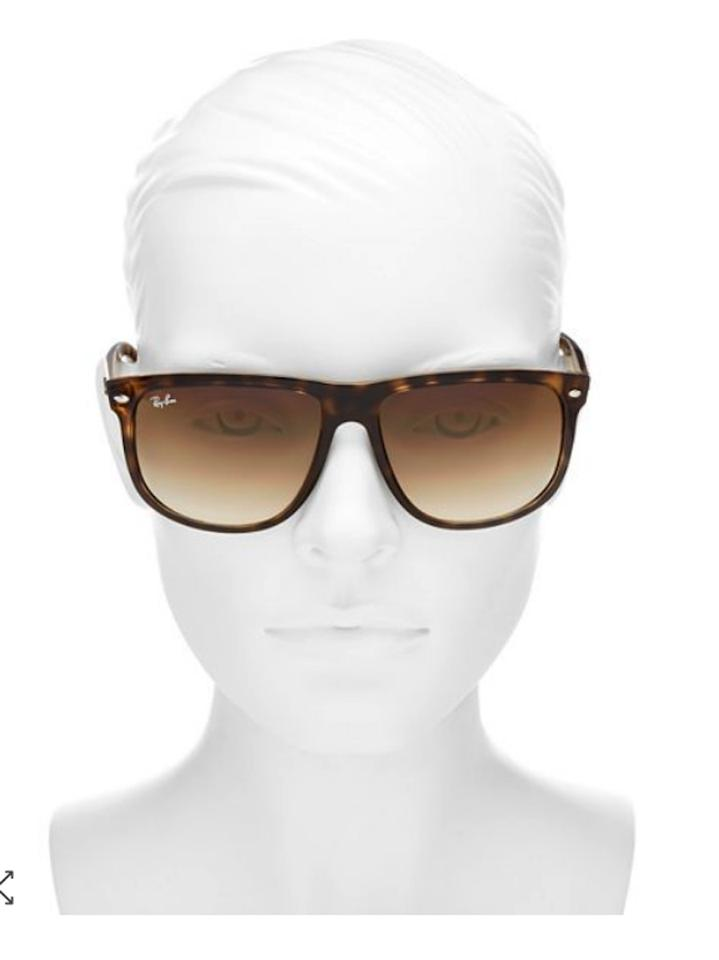 d84598561be1 Ray-Ban Brown / Tortoise Unisex Flat-top Boyfriend 60mm Sunglasses ...