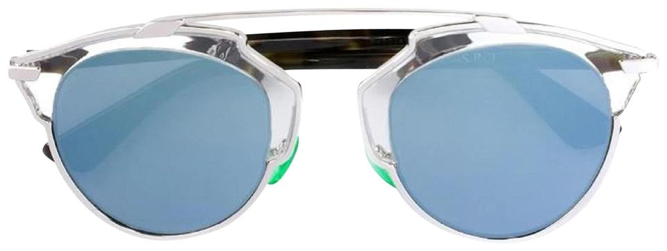 990895ef8bc5 Dior So Real Paladium Havana Turquoise Mirror Nsyt17 Frame Lenses Box  Sunglasses