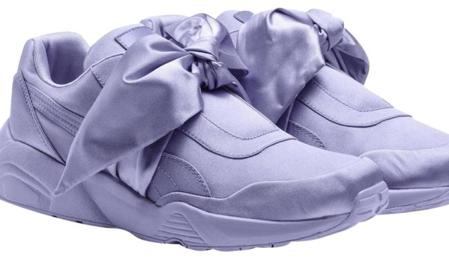 Item - Lavender Satin with A Bow Sneakers Size US 9 Regular (M, B)