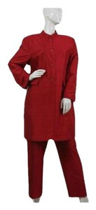 Bob Mackie Bob Mackie Womens Suit Set Red Sz16 (SKU 000111)