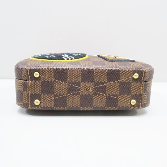 Louis Vuitton Lv Story Box Damier Ebene Canvas Tote in Brown