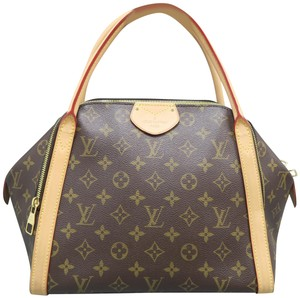 Louis Vuitton Marais Monogram Canvas Tote in Brown
