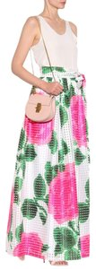 Tory Burch Maxi Skirt White green pink floral