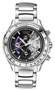 Versace New Versace DV One Skeleton VK801 0013 Limited Ceramic Chronograph 44M