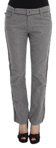 Ermanno Scervino Women's Fit Casual D30297-4 Straight Pants Gray
