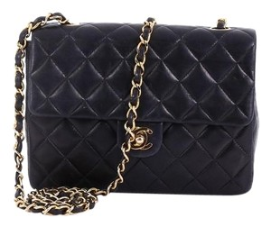 Chanel Shoulderbag Leather Cross Body Bag
