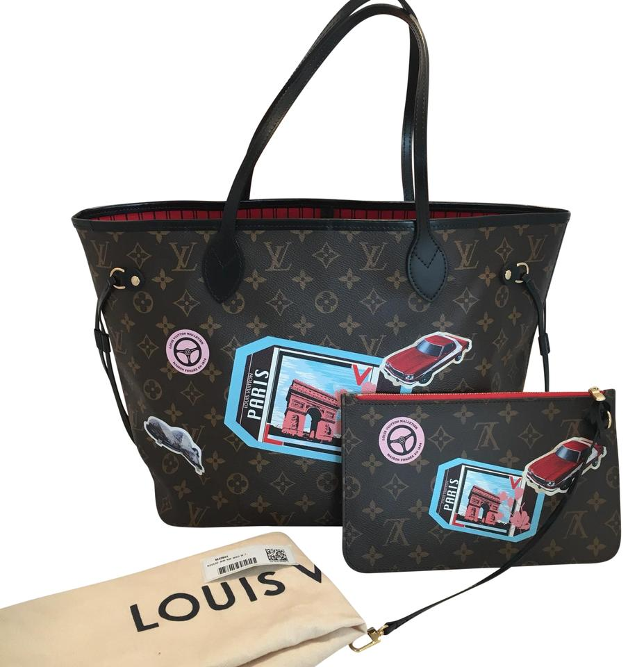 798a385ab5f3 Louis Vuitton World Tour Neverfull Mm Limited Edition Tote in Brown Image 0  ...
