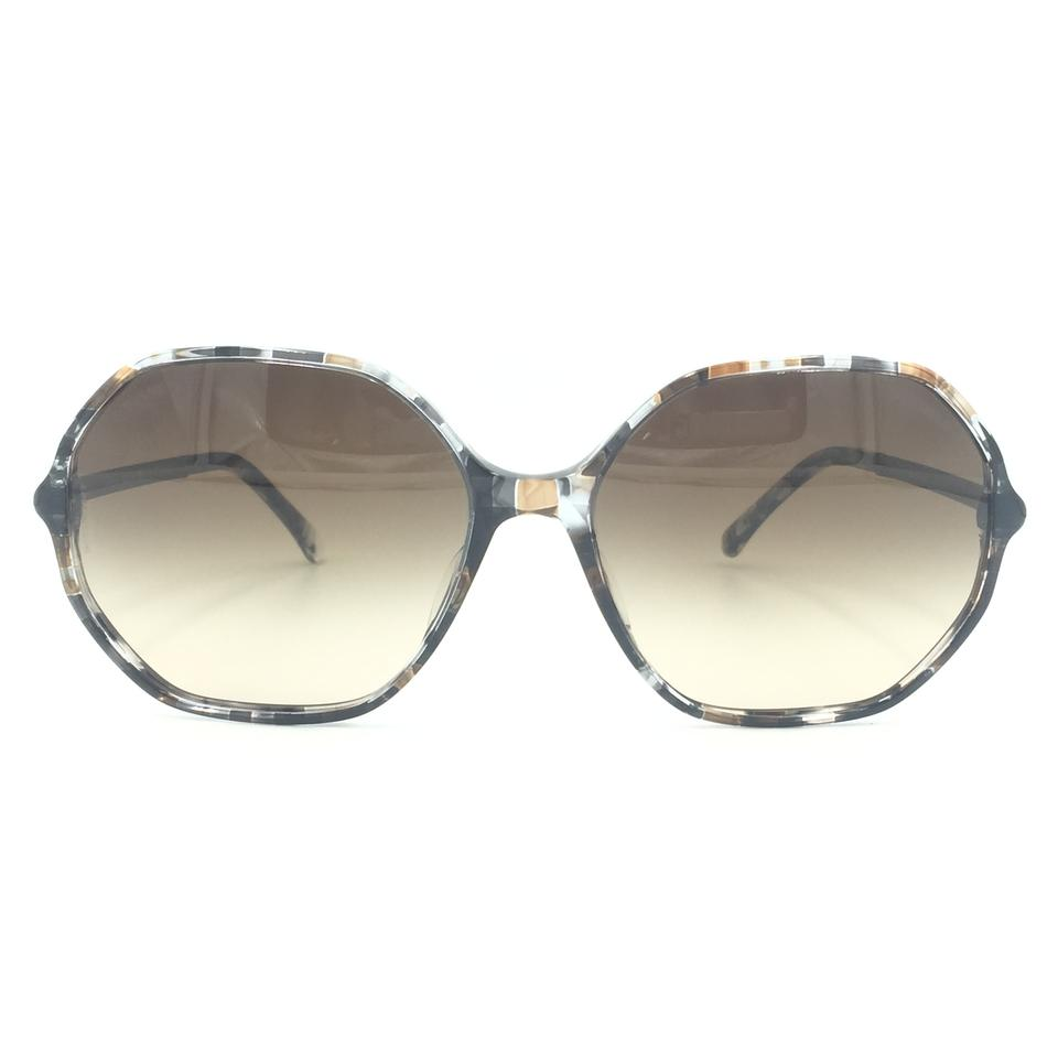 947009aad Chanel Round Multicolor Brown Gradient Sunglasses 5345-A 1521/S5 Image 0 ...