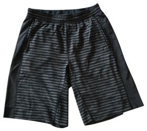 Lululemon Lululemon Men's Gray/Black Stripe Shorts