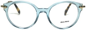 Miu Miu New Rounded Eye Glasses VMU 04P VAA101 Free 3 Day Shipping