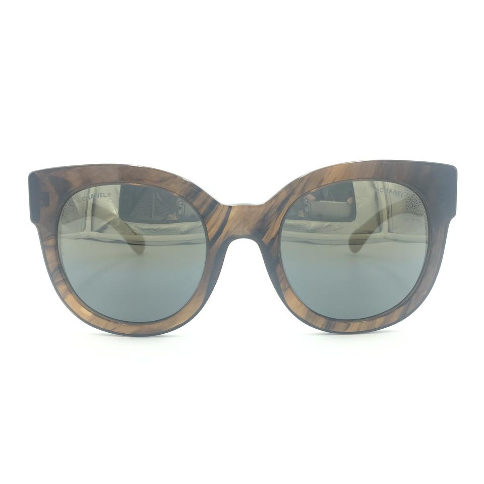 7cd65a2073c41 Chanel Cat Eye Bronze Mirror Gradient 5358 c.1569 Y9 Sunglasses Image 0 ...