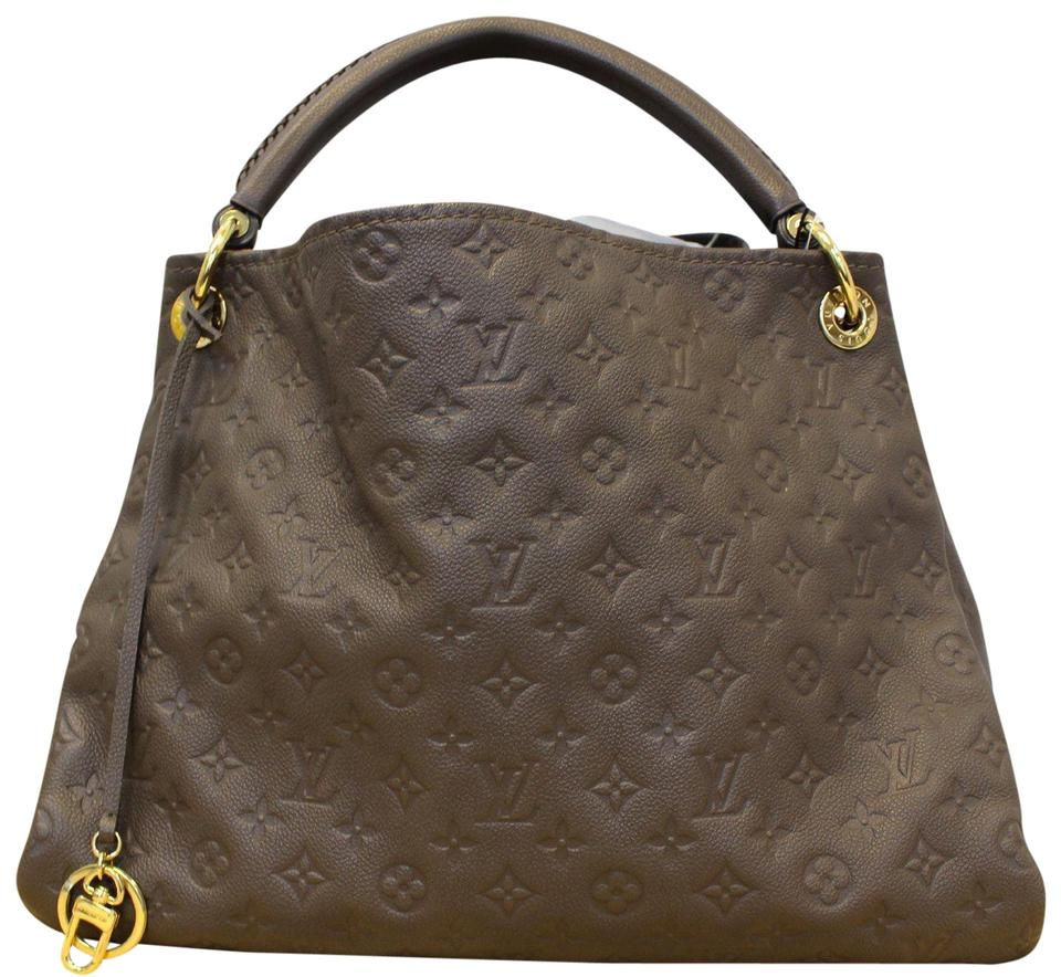 deb2227eaa53 Louis Vuitton Artsy Mm Monogram Empreinte Leather Terre Shoulder Bag ...