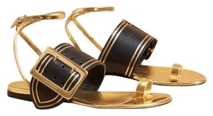 Burberry Flat gold Sandals