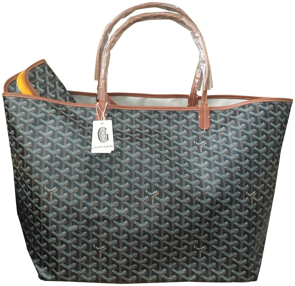 e65e3198e7d0f Goyard Classic Chevron St. Louis Gm (Large) - Includes Detachable ...