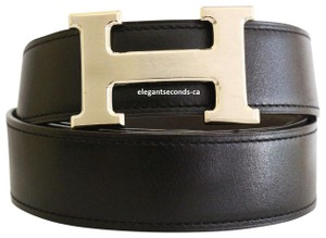 Hermès Constance 32MM/95CM Reversible Hermes Belt Palladium Matte Buckle