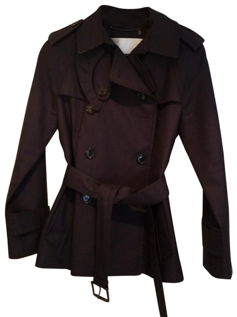 Item - Blue Navy Short Double Breasted Coat Size 4 (S)