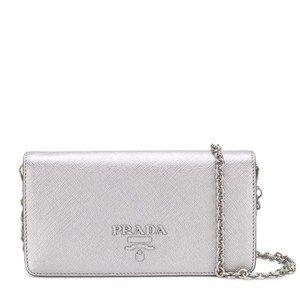 Prada Saffiano Wallet On Chain Mini Shoulder Bag