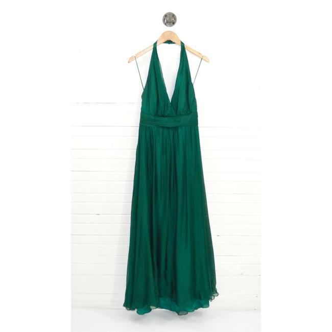 Item - Green Collection Evening Gown #131-165 Long Formal Dress Size 12 (L)
