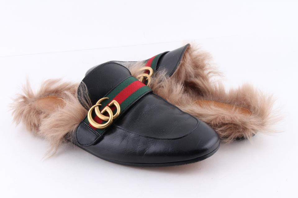 b01e2d576e2 Gucci Black Princetown Leather Slipper Shoes Image 0 ...