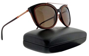 2d73bb49a6480 Versace VE4336-509373-56 Oval Womens Brown Frame Brown Lens Genuine  Sunglasses