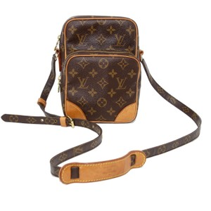 Louis Vuitton Cartouchiere Epi Leather Chantilly Trocadero Danube Brown Messenger Bag
